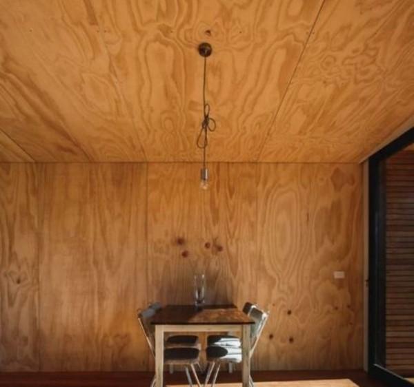 деревянный потолок Армстронг из фанерованного мдф.