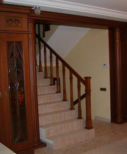Частный заказ, Лестница, отделка помещения