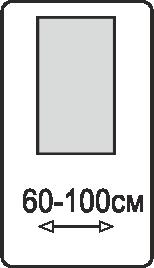 Ширина полотна 60-100 см