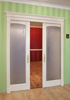 Раздвижная дверь в скрытом пенале