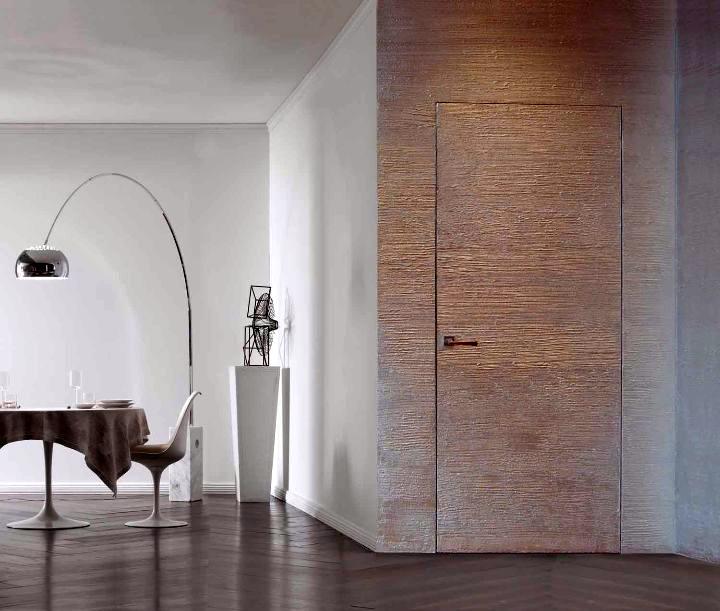 Дверь Невидимка под декоративную отделку