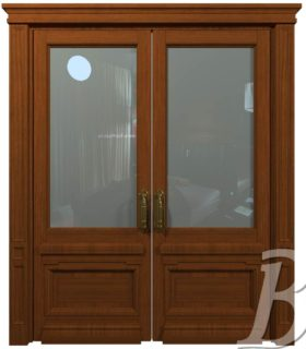 Модель «ГУМ» двупольная дверь Цвет по согласованному образцу ТД ГУМ
