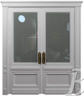 Модель «ГУМ» двупольная дверь RAL9010