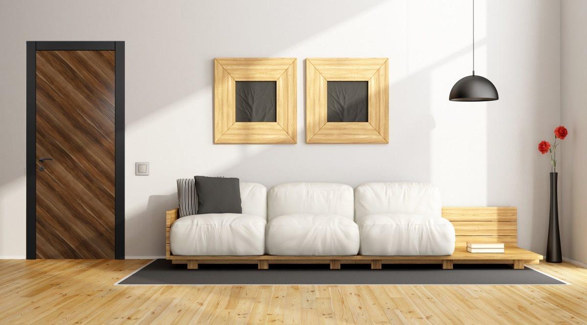 Модель Франческа в интерьере минимализм, модерн.