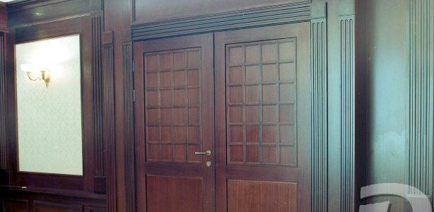 Престижные межкомнатные двери из дуба для Гостиницы «Славянка»