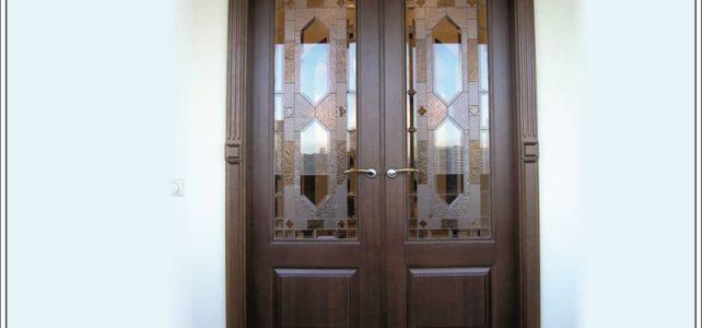 Арочная межкомнатная дверь из массива на заказ