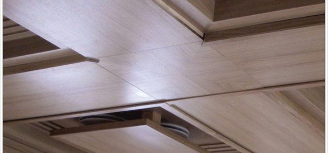 Кессонный потолок из массива на заказ