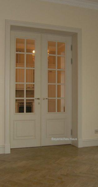 Частный заказ двупольная межкомнатная дверь