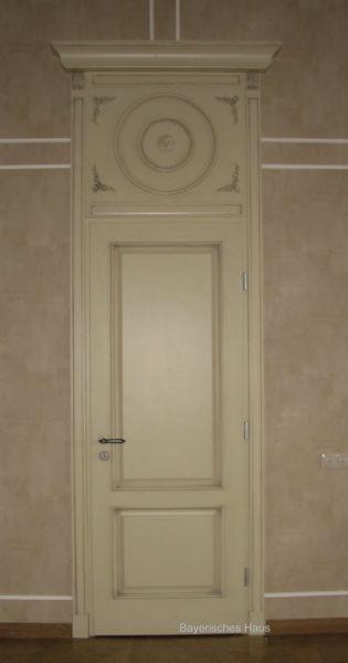 Частный заказ межкомнатная дверь с фрамугой