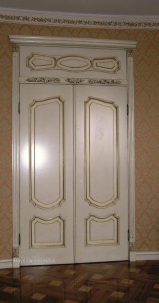 Частный заказ двупольная межкомнатная дверь с фрамугой