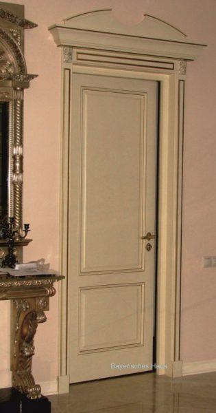 Частный заказ межкомнатная дверь с карнизом