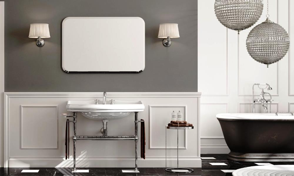 Буазери - Неоклассика в интерьере ванной комнаты