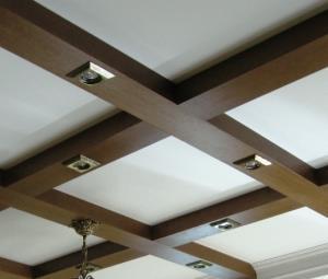 Деревянные фальшбалки для потолка или стен