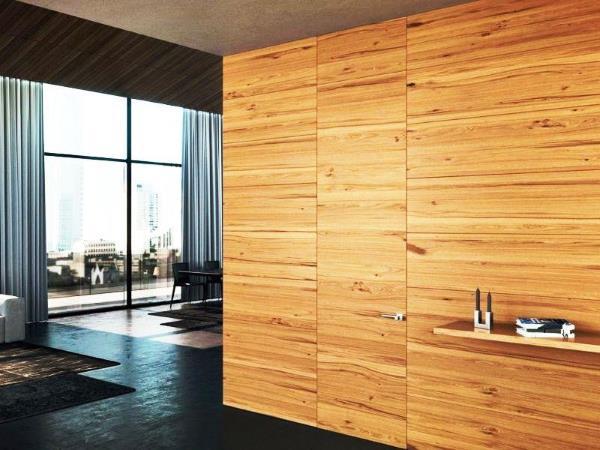 Стеновые панели и дверь невидимка