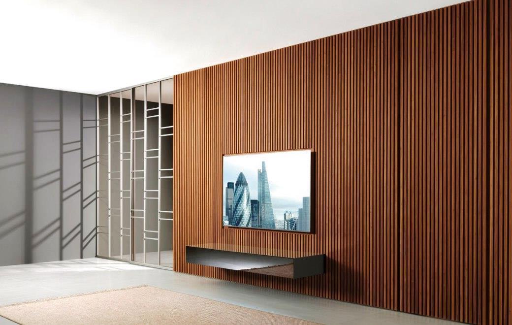 Стеновые панели реечные из массива