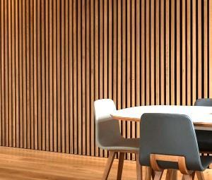 Узкие рейки для отделки стен