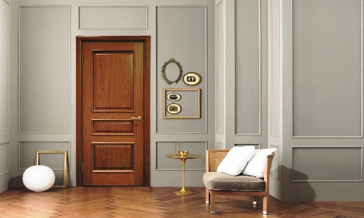 Классическая дверь, Модель К4 в интерьере