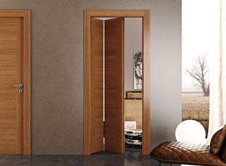 Межкомнатная складная дверь в интерьере