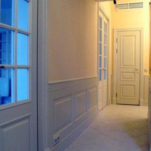 Межкомнатные двери Модель О2 и панели буазери — Нео, покрытые эмалью