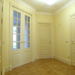 Межкомнатные двери Модель О2 и i, покрытые эмалью